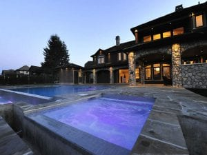 in-ground pool design and installation in Surrey